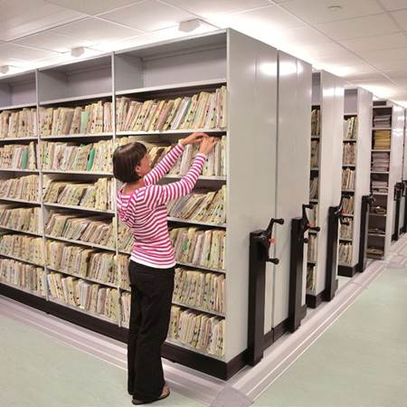 Picture for category Rotary Or Mobile Shelving
