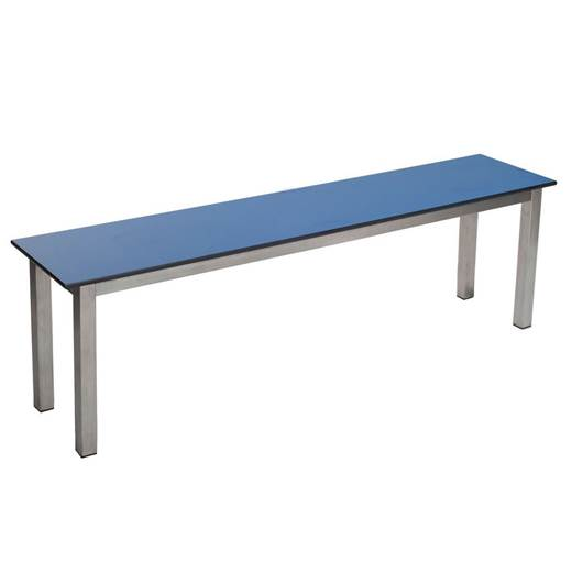 Picture of Stainless Steel Benches with Laminate Seats