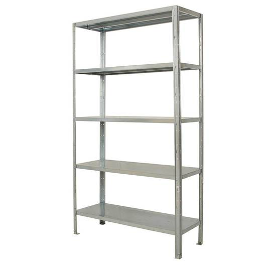 Picture of Idea 5 Galvanised Shelving