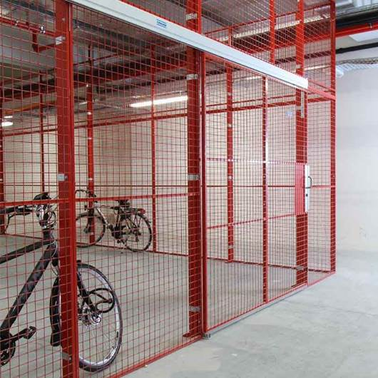 Picture of Industrial Mesh Partitions - Caelum