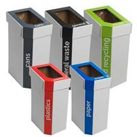 Picture of Cardboard Recycling Bins - Set of 5