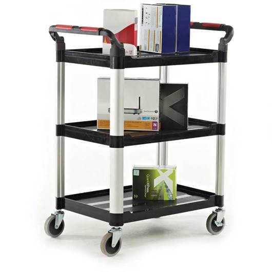 Picture of Proplaz 3 Shelf Trolleys