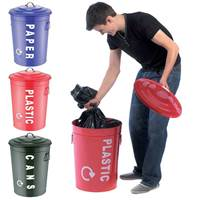 Picture of Recycling Centre Bins - Set of 3