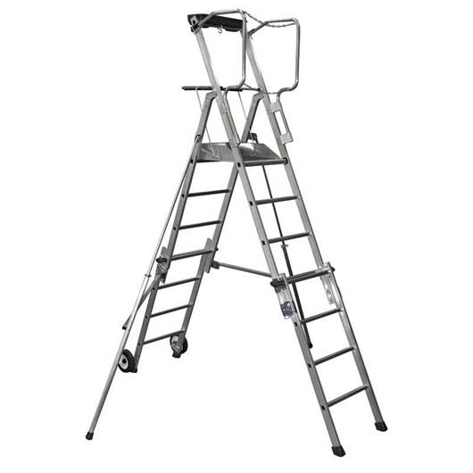 Picture of Adjustable Height Telescopic Work Platforms