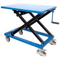 Picture of Winch Scissor Lift Tables